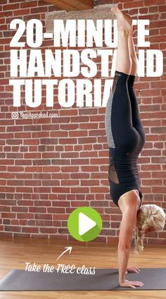 20-Minute Handstand Tutorial (Free Class)
