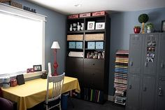I like this craft room. Functional & decorated @my favorite photos: I've been busy!