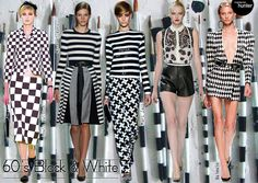 BLACK AND WHITE FASHION 2013 | ... black and white color combination are highlight of this summer 2013
