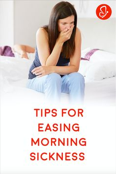 Tips for Easing Morning Sickness - Tried and True Tips (from a formerly-nauseous mom of three!)