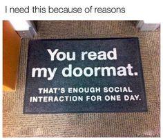 My Doormat