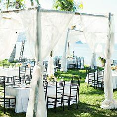 Romantic Draped Tables