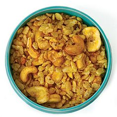 Spicy indian snack mix 1 quart crisp puffed rice cereal such as Rice ...