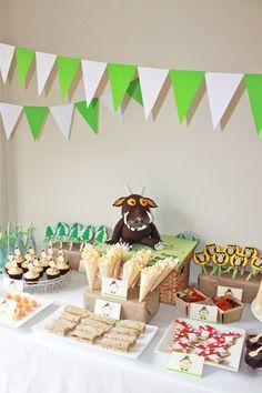 Bondville: Party Ideas: Gruffalo 3rd birthday party