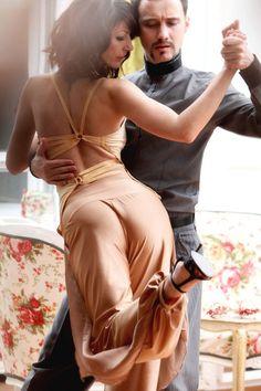 Tango-Top sexy Oberteil zu öffnen hinten oben von AbrazosTangoWear