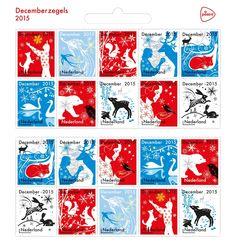 Vanaf 24 november kunnen ze gebruikt worden, de nieuwe decemberzegels / kerstzegels!