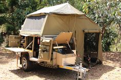 With a huge tent area and awnings your family will fall in love with the best affordable off-road trailer on the market.