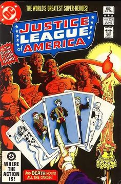 Justice League of America #203