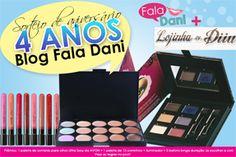 Em comemoração aos 4 ANOS DE ANIVERSÁRIO DO BLOG FALA DANI, vai ter sorteiooooooo!!!  Acesse o link e PARTICIPE! http://www.faladani.com.br/2014/10/sorteio-de-aniversario-de-4-anos-do.html