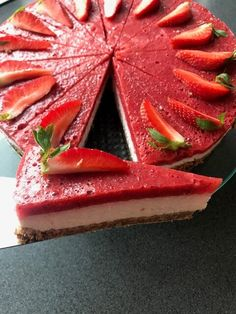 Sweet Desserts, Deserts, Strawberry, Food And Drink, Low Carb, Treats, Baking, Fruit, Healthy