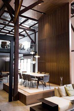 Living Edge Sydney Showroom Designed by Woods Bagot.