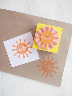 #sunshine #sunstamp #hellostamp #summerdecor #summerstamp #rubberstamp #partydecor #scrapbookingideas https://www.etsy.com/uk/listing/551678936/hello-sunshine-stamp-hello-stamp-sun