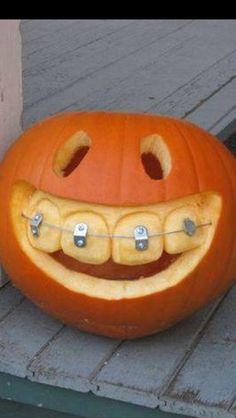 This pumpkin is obviously REALLY happy!  Have a fave pumpkin? Pin it and tag @Spoonful for a chance to be featured on their board!