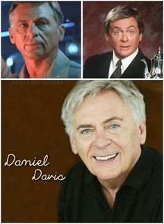 Daniel Davis -  great stage actor from England. 'The Nanny'