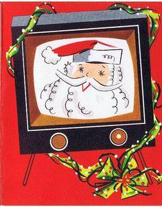 Christmas Card : 1950's