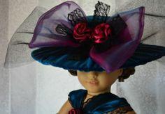 "Edwardian Titanic Downton Abbey Dress for 18"" American Girl Samantha Rebecca | eBay"
