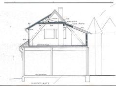 Schnittzeichnung Haus grundriss og wohnen in einer ehemaligen amtsvogtei heidekreis