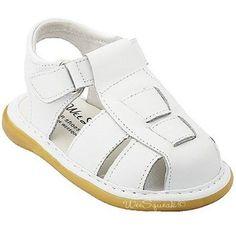 Wee Squeak Toddler Boys White Fisherman Sandals Shoes 7 Wee Squeak. $34.99