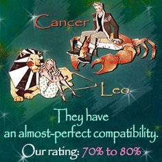 WOW!!! Good read... Especially the sexual & marital!  Cancer man and Leo woman relationship compatibility....