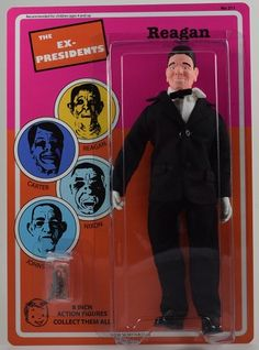 Point Break - Ex President Reagan Mego Figure