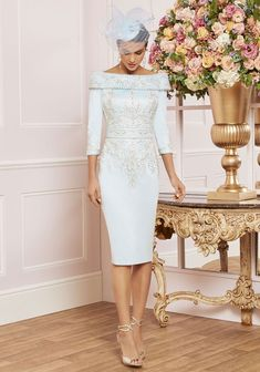 991479 Veni Infantino Mother of the Bride 991479 - Ronald Joyce International Mother Of The Bride Fashion, Mother Of Bride Outfits, Mother Of Groom Dresses, Bride Dresses, Groom Wedding Dress, Boho Wedding Dress, Designer Wedding Dresses, Groom Outfit, Gowns Of Elegance