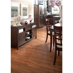 Shop allen roth w x l marcona hickory for Baldwin laminate flooring