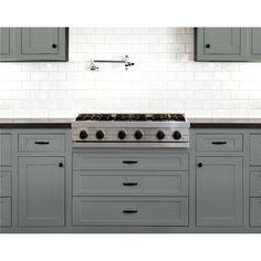 Nuvo Coconut Espresso Cabinet Makeover Paint Kit - Walmart.com - Walmart.com Blue Kitchen Cabinets, Kitchen Cabinet Colors, Grey Cabinets, Kitchen Reno, Kitchen Colors, Condo Kitchen, Design Kitchen, Kitchen Remodeling, Kitchen Interior