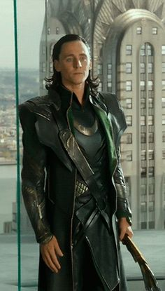 Loki. I have given up on defending myself when it comes to how awesome I think Loki is. Lol