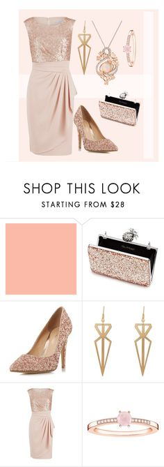 """""""Just A Little Sweet"""" by my-style-xo ❤ liked on Polyvore featuring Miss Selfridge, Head Over Heels by Dune, Gina Bacconi, Thomas Sabo, LE VIAN, contest and contestentry"""