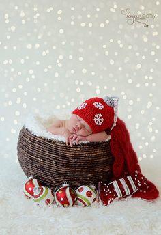 Newborn Christmas Babies