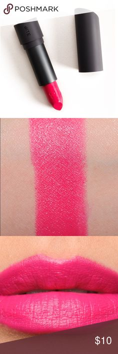 "Bite lipstick ""Bellini"" *new without box* Bite's Luminous Crème Lipsticks deliver a lush, long-lasting, moisture-rich lip color. They're formulated with antioxidant resveratrol, which helps to target free radicals with potent, long-term antiaging benefits. They're also infused with the amount of resveratrol found in five glasses of red wine. Bite Makeup Lipstick"