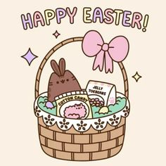Happy Easter - Pusheen