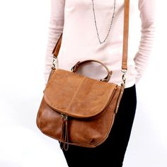 Leather Purse/ Leather Shoulder bag/ Leather by TheLeatherStore