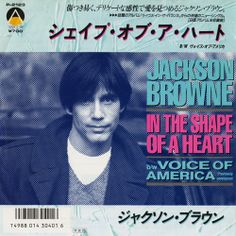 "Jackson Browne-In The Shape Of A Heart(Japan,Vinyl, 7"", Single)"