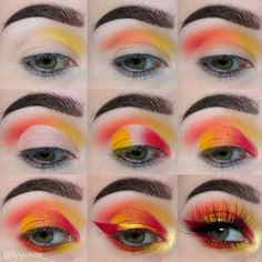 Pinterest @IIIannaIII More on my wall*eye makeup step by step* #EyeMakeupAmazing
