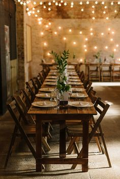 Table decor for a  modern, cool, London warehouse wedding. Photography by Thierry Joubert.