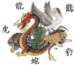 Shaolin Five Animals Kung Fu Kung Fu Martial Arts, Chinese Martial Arts, Martial Arts Workout, Mixed Martial Arts, Tai Chi Chuan, Tai Chi Qigong, Shaolin Kung Fu, Karate Shotokan, Thai Boxe