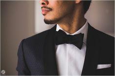 Liberty Warehouse Wedding, groom prep, tuxedo