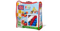 Vroom! Vroom! Meet your child's new friends – First Builders Whacky Wheels from Mega Bloks! This collection of vivid blocks combines to build everything from fire trucks to airplanes! The funny...