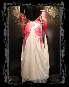 Sriani floral dress back view