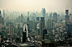 Shanghai skyscape (photo by Peter Morgan)