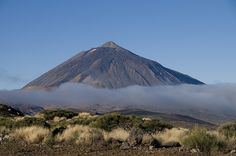 El Teide.Parque Nacional del Teide.Tenerife.Canary Islands Spain. World Heritage Site by UNESCO since 2007. El Teide Volcano is one of the best places arround the world to watch the stars and the night sky.