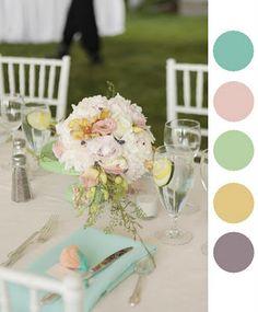 Casamento, paleta de cores, wedding color