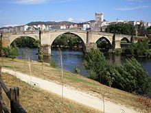 Orense - Puente Medieval de Orense.