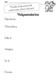 Slide22 Learn Finnish, Finnish Language, Bingo, Homeschool, Math Equations, Teaching, Writing, Education, Quotes