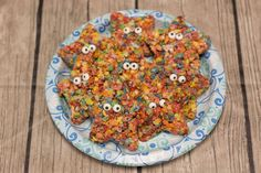 Rainbow sea stars -- underwater snacks for Ocean Commotion VBS 2016