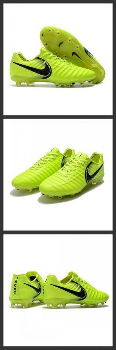 new product 4428c 8c550 Nike Tiempo Legend 7 FG Scarpe da calcio Uomo Volt Nero