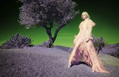 Psychedelic Landscape Editorials - This Vogue Italia Exclusive Boasts Solve Sundsbo Photography (GALLERY)