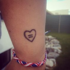 Pride Tattoos 25 amazing inspo for girls who want a pride tattoo . Gay Pride Tattoos, Equality Tattoos, Gay Tattoo, Tattoo Quotes, Equality Quotes, Tattoo Art, Great Tattoos, Body Art Tattoos, Small Tattoos
