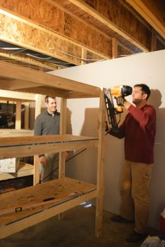 I wanted to take a minute to show you our unfinished basement and how my hubby built some storage shelves. This space has much potential and...